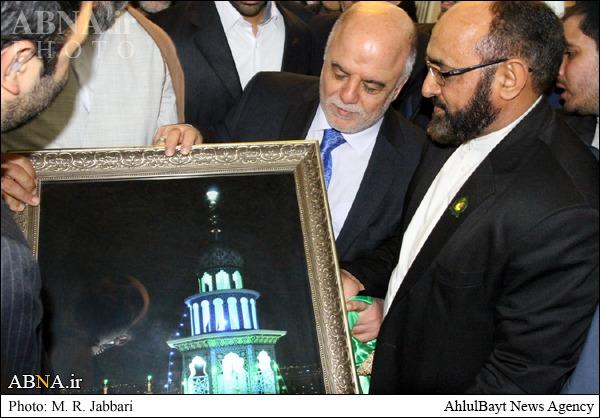هدیه ایران به نخست وزیرعراق+عکس