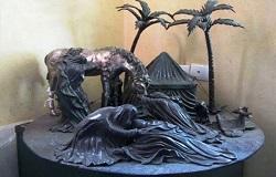 مجسمه عصرعاشورا فردا رونمایی میشود /نصب نماد فردا در میدان امام حسین(ع)