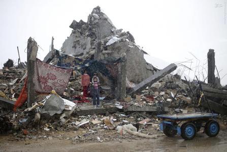 زندگی در خرابههای غزه+عکس
