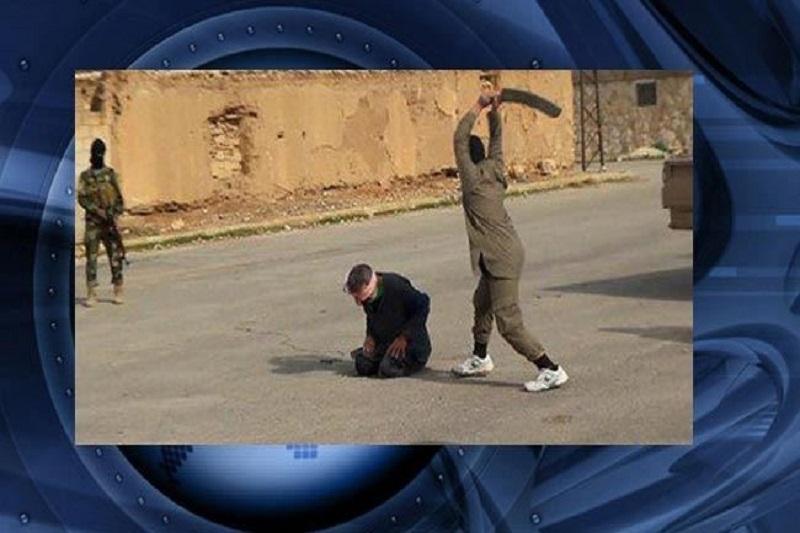 داعش یک شیعه سوری را گردن زد+عکس