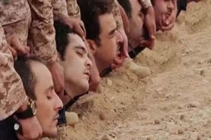 ویدئوی 200 هزار دلاری داعش از قتل عام سوری ها