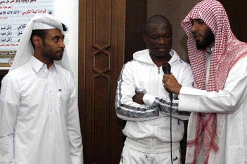 بازیکن تیم لخویای قطر مسلمان شد
