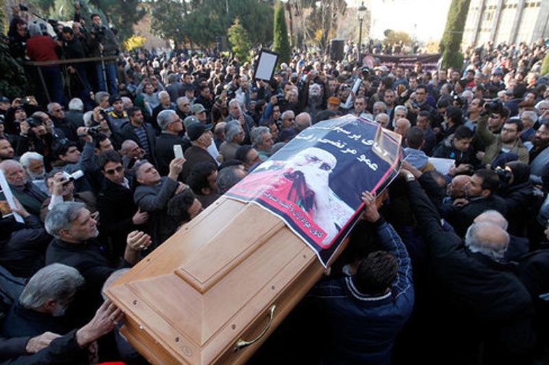 تشییع پیکر زنده یاد مرتضی احمدی