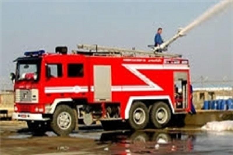 آتشسوزی در دو سوله ۲ هزار متری