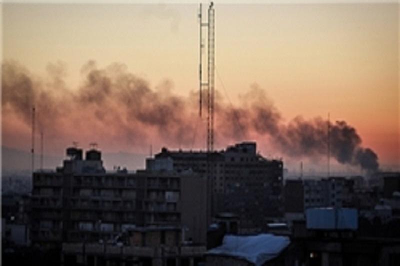 آتش سوزی در بازار سید ولی تهران