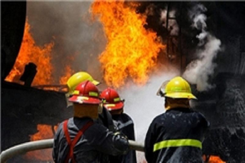 آتشسوزی در پاساژ قیصر بازار بزرگ