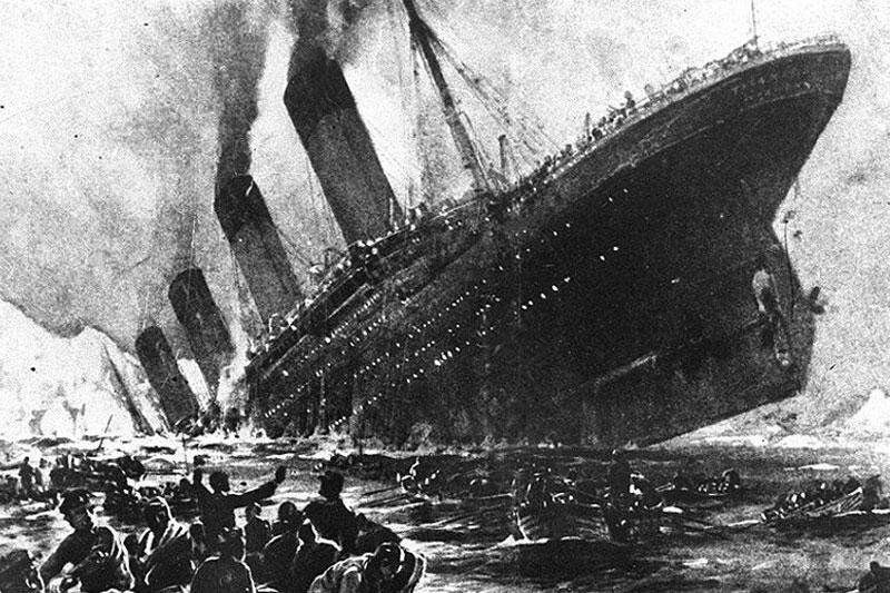 بلیط کشتی تایتانیک