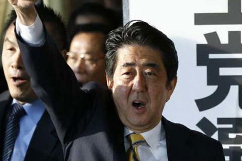 آبه خواستار آزادی گروگان های ژاپنی توسط داعش شد