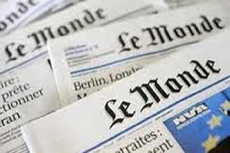 صفحه توئیتر روزنامه لوموند هک شد