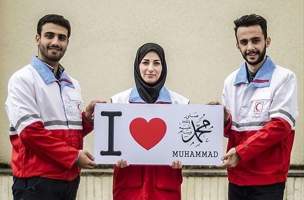 من عاشق محمد(ص) هستم+عکس