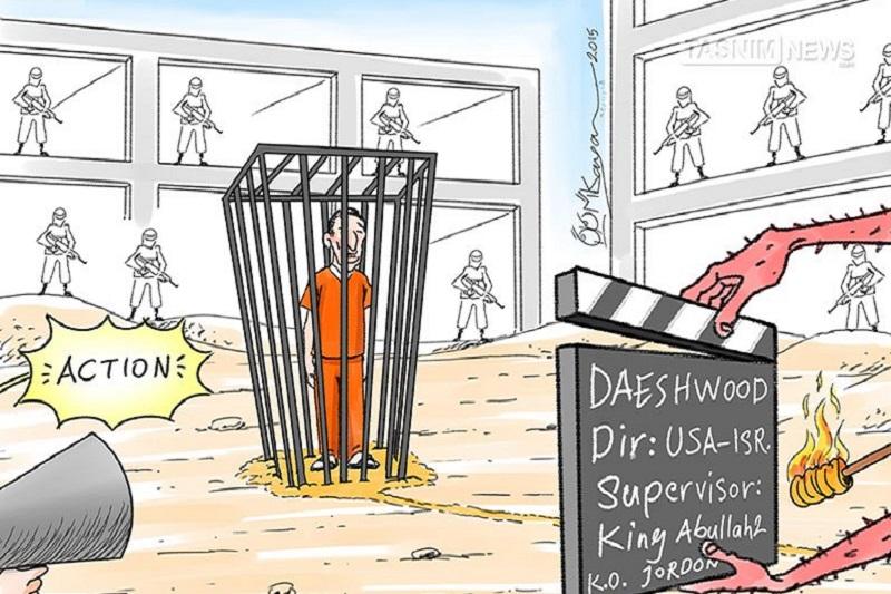 فیلمی از کمپانی داعشوود!!!/ کاریکاتور