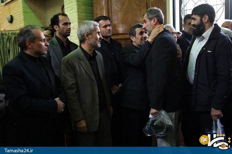 همدردی گزینه نیمکت پرسپولیس با احمدی نژاد+عکس