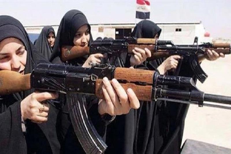 یگان زنان موصل با داعش میجنگد