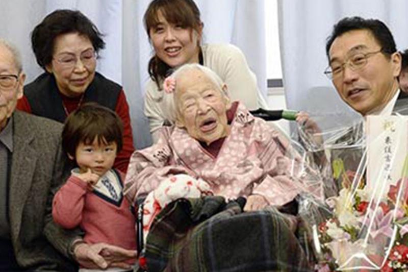 پیرترین زن جهان در گذشت