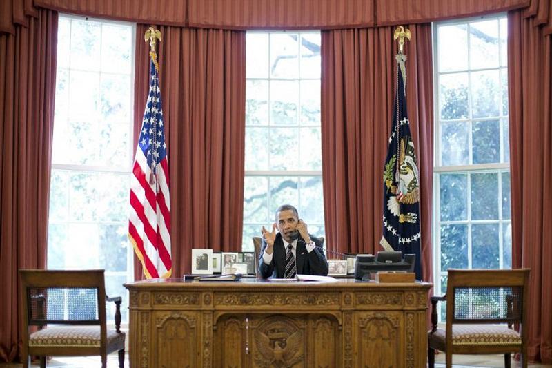 گفتگوی اوباما با سران عراب درباره تفاهم سیاسی لوزان