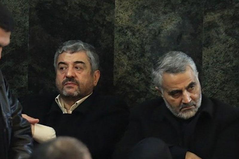 مراسم ختم پدر همسر سردار حجازی برگزار شد