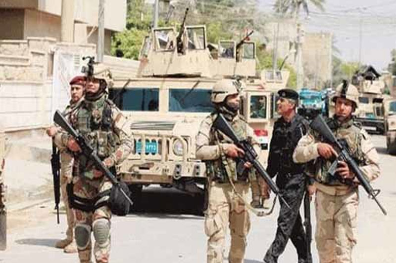 هلاکت ۲۱ تروریست داعش در عملیات ارتش عراق در تکریت