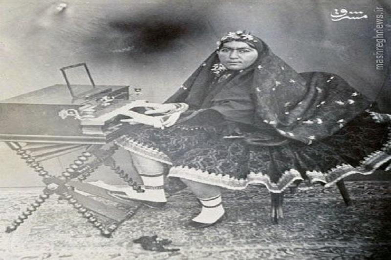 ملکه محبوب ناصرالدین شاه+عکس