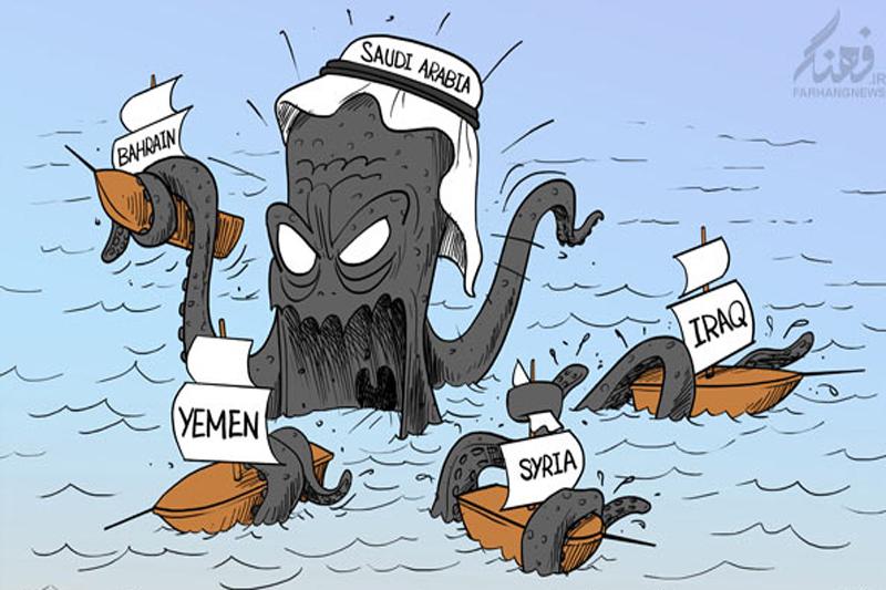 رسوایی آل سعود در جنگ نیابتی نابرابر/کمک عربستان به دشمنان قسم خورده اسلام