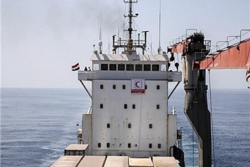 «کشتی نجات» به آبهای آزاد مقابل یمن رسید