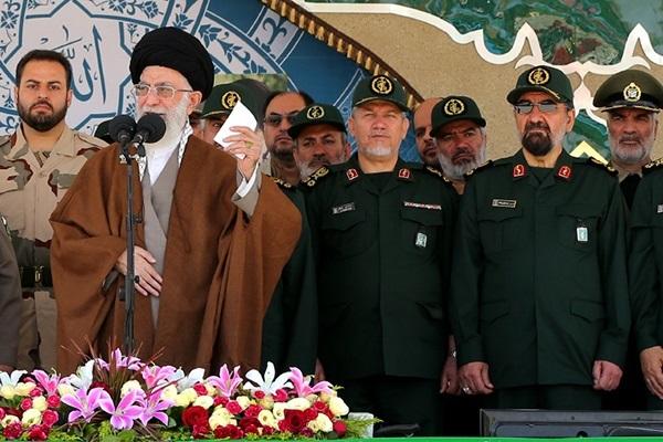 اولین حضور رسمی محسن رضایی پس از ۱۸ سال با لباس رسمی سپاه
