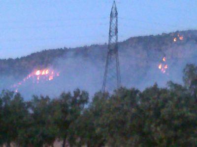 آتش سوزی در ارتفاعات جنگلی شلم در ایلام مهار شد