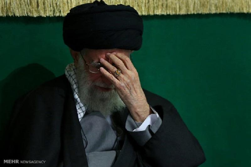 مراسم سوگواری حضرت علی(ع) در حضور رهبرانقلاب برگزار شد