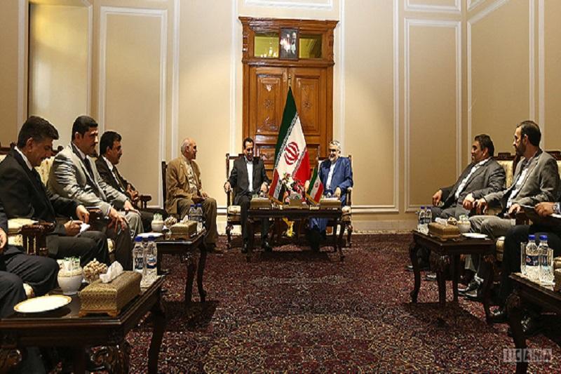 ایران هیچگاه به آمریکا خوشبین نبوده است/ تاکید بر تبادل تجارب میان ایران و عراق