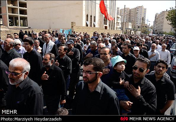 تجمع هیئات مذهبی در دارالشهدای تهران
