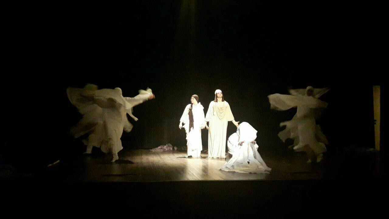 اقلیما جدیدترین تئاتر گروه هنر مقدس به روی صحنه می رود