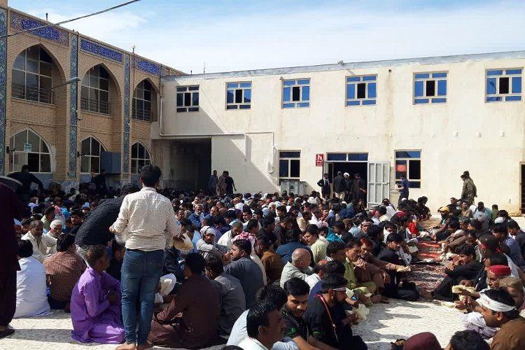 1570442237 - خدمترسانی به ۲۰۰۰ زائر پاکستانی اربعین در زاهدان +تصاویر